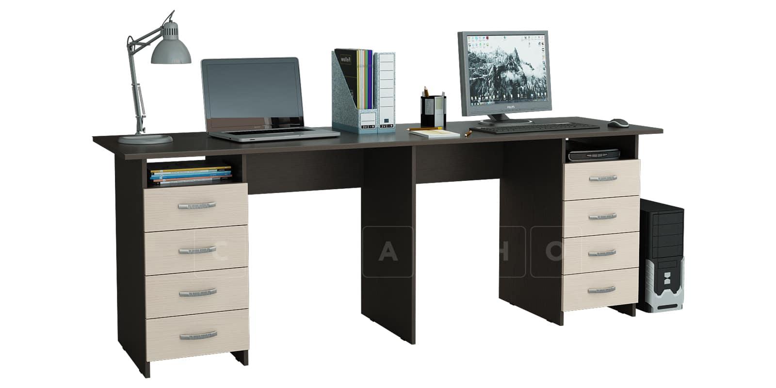 Офисный стол Кейптаун с двумя тумбами фото 2   интернет-магазин Складно