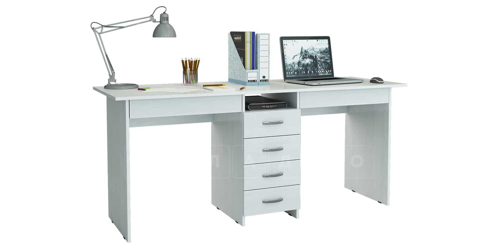 Офисный стол Кейптаун 6 ящиков фото 2 | интернет-магазин Складно