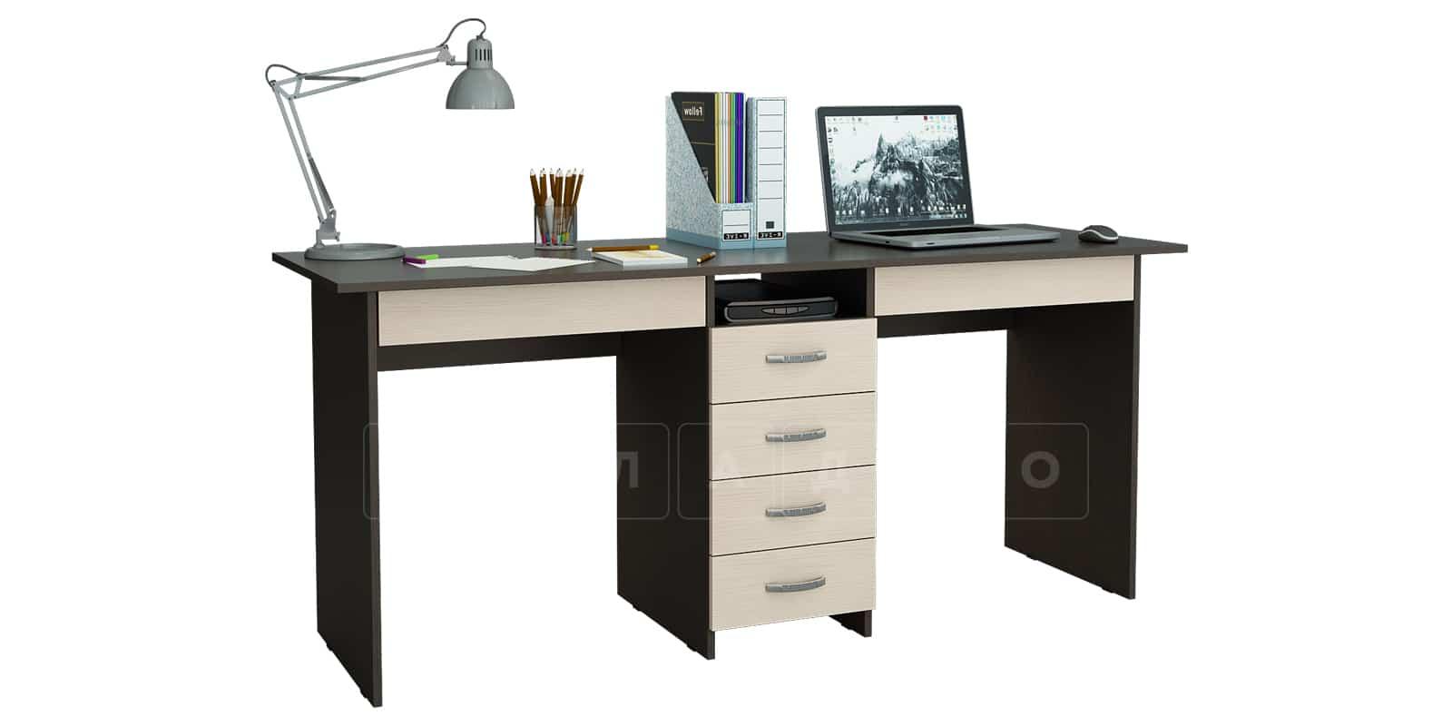 Офисный стол Кейптаун 6 ящиков фото 3 | интернет-магазин Складно