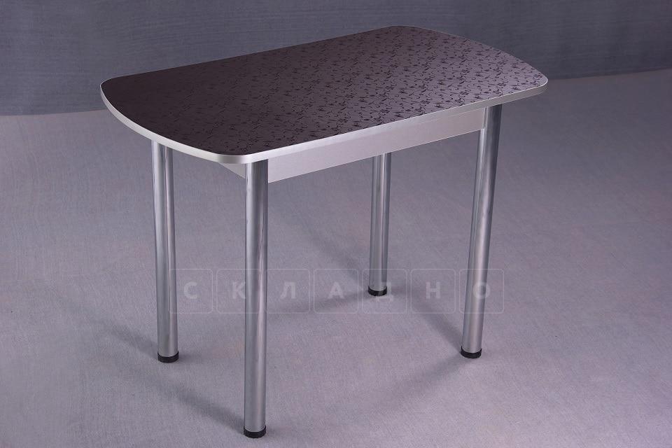 Стол обеденный на хромированных ножках столешница 19мм фото 1 | интернет-магазин Складно