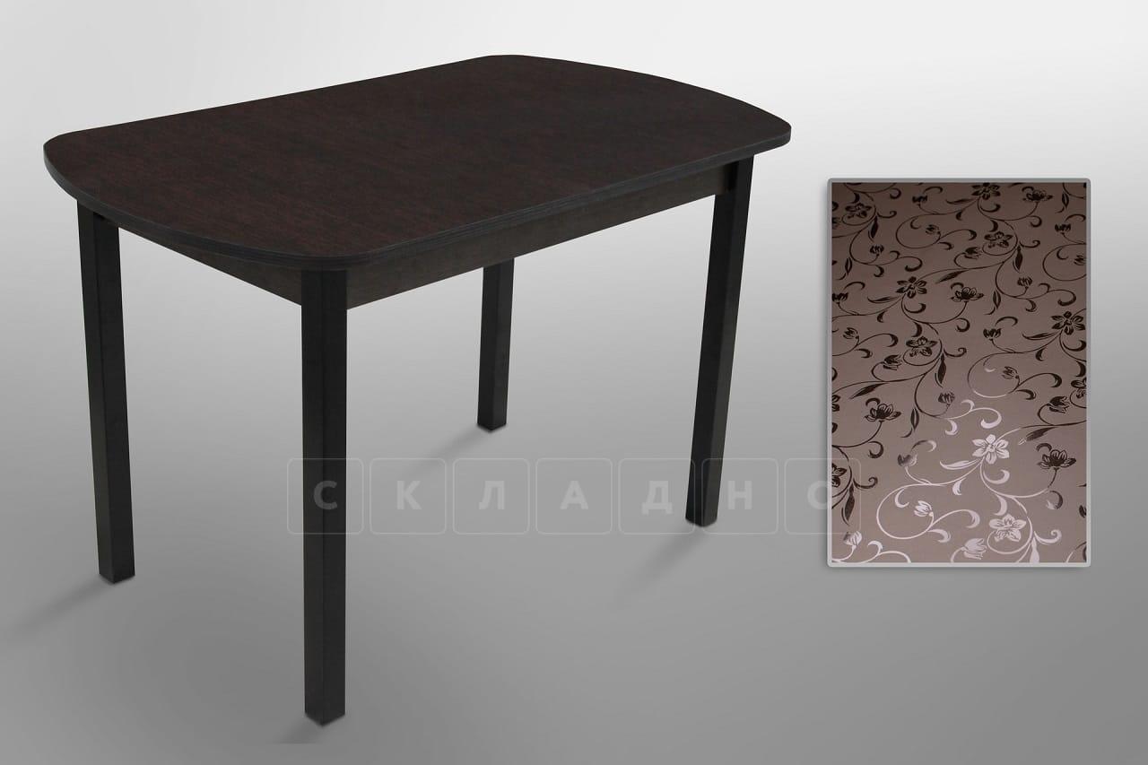 Обеденный раздвижной стол точеные ножки 150х70 фото 1 | интернет-магазин Складно