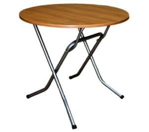 Складной стол Ривьера круглый 110 х 110 см.  4440  рублей, фото 1 | интернет-магазин Складно