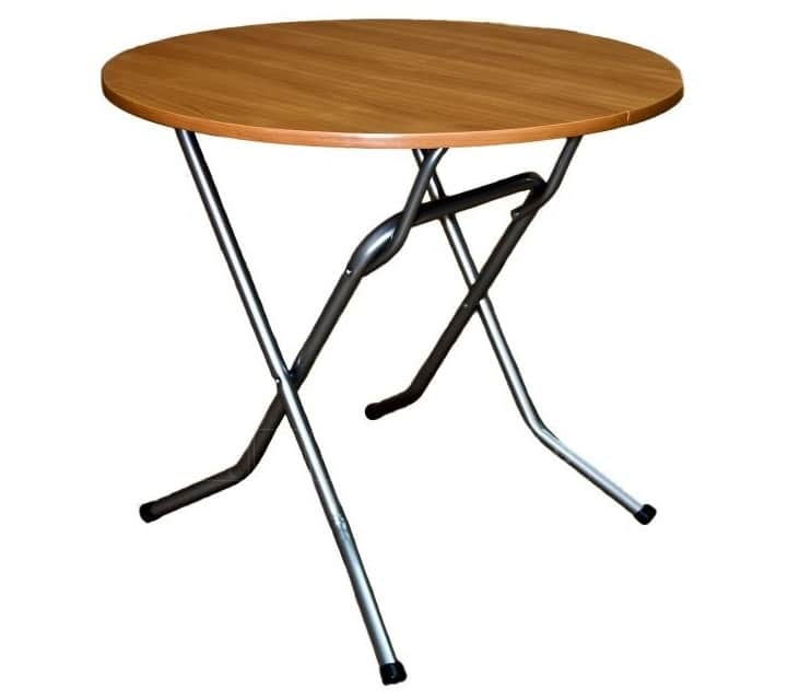 Складной стол Ривьера круглый 90 х 90 см. фото 1 | интернет-магазин Складно