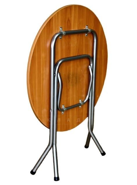 Складной стол Ривьера круглый 90 х 90 см. фото 2 | интернет-магазин Складно