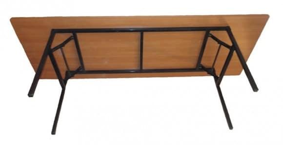 Складной стол Тамада квадратный 100 х 100 см. фото 2 | интернет-магазин Складно