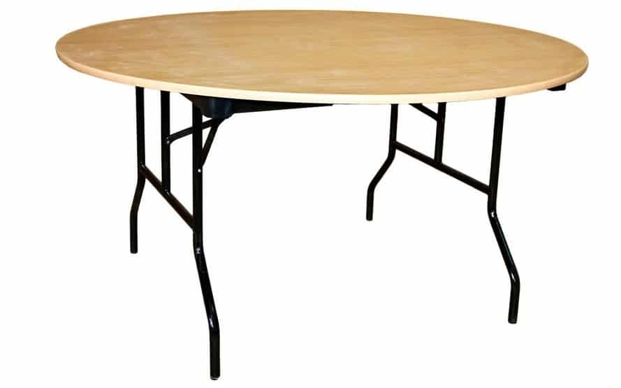 Складной стол Дельта круглый 130 х 130 см. фото 1 | интернет-магазин Складно