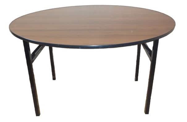 Складной стол Тамада круглый 130 х 130 см. фото 1 | интернет-магазин Складно