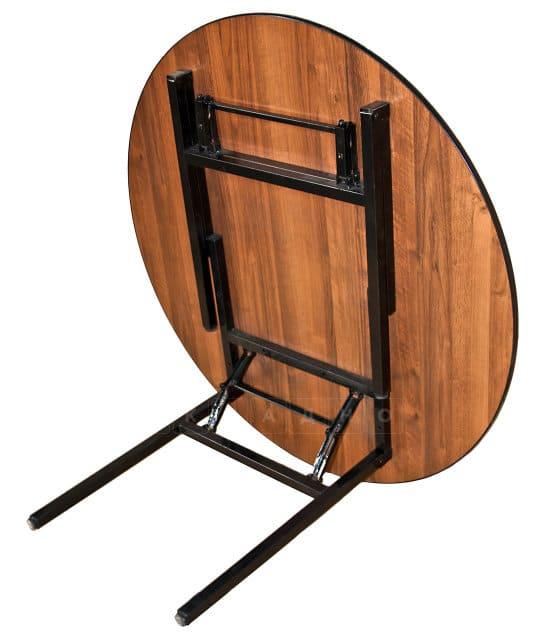 Складной стол Тамада круглый 180 х 180 см. фото 2 | интернет-магазин Складно