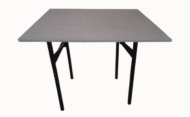 Складной стол Тамада квадратный 100 х 100 см. фото 1 | интернет-магазин Складно
