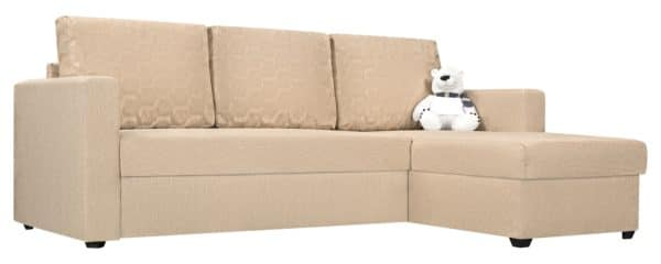 Угловой диван Турин бежевый фото | интернет-магазин Складно