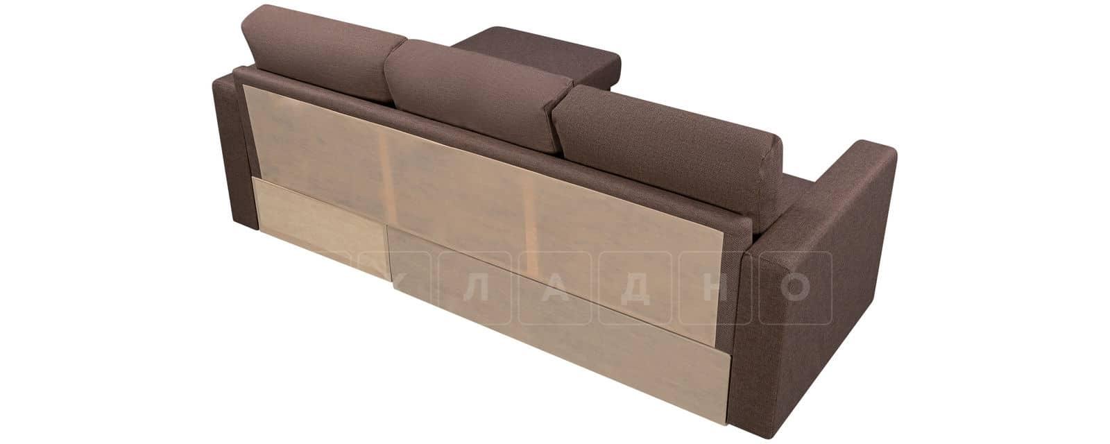 Угловой диван Турин коричневый фото 3 | интернет-магазин Складно