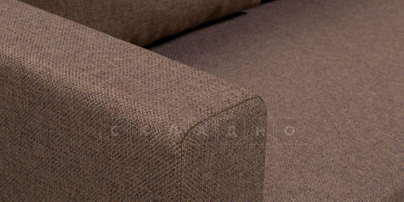 Угловой диван Турин коричневый фото 7 | интернет-магазин Складно