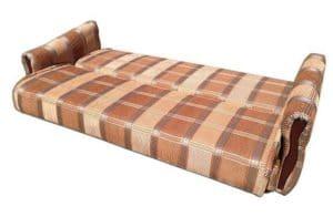 Диван-книжка Уют 120 пружинный коричневого цвета 7490 рублей, фото 2 | интернет-магазин Складно
