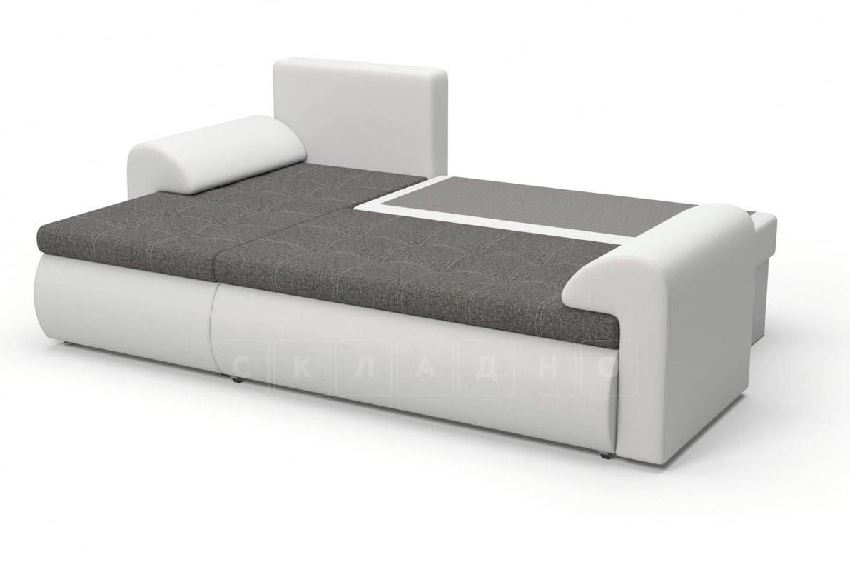 Угловой диван Цезарь белый левый фото 5   интернет-магазин Складно