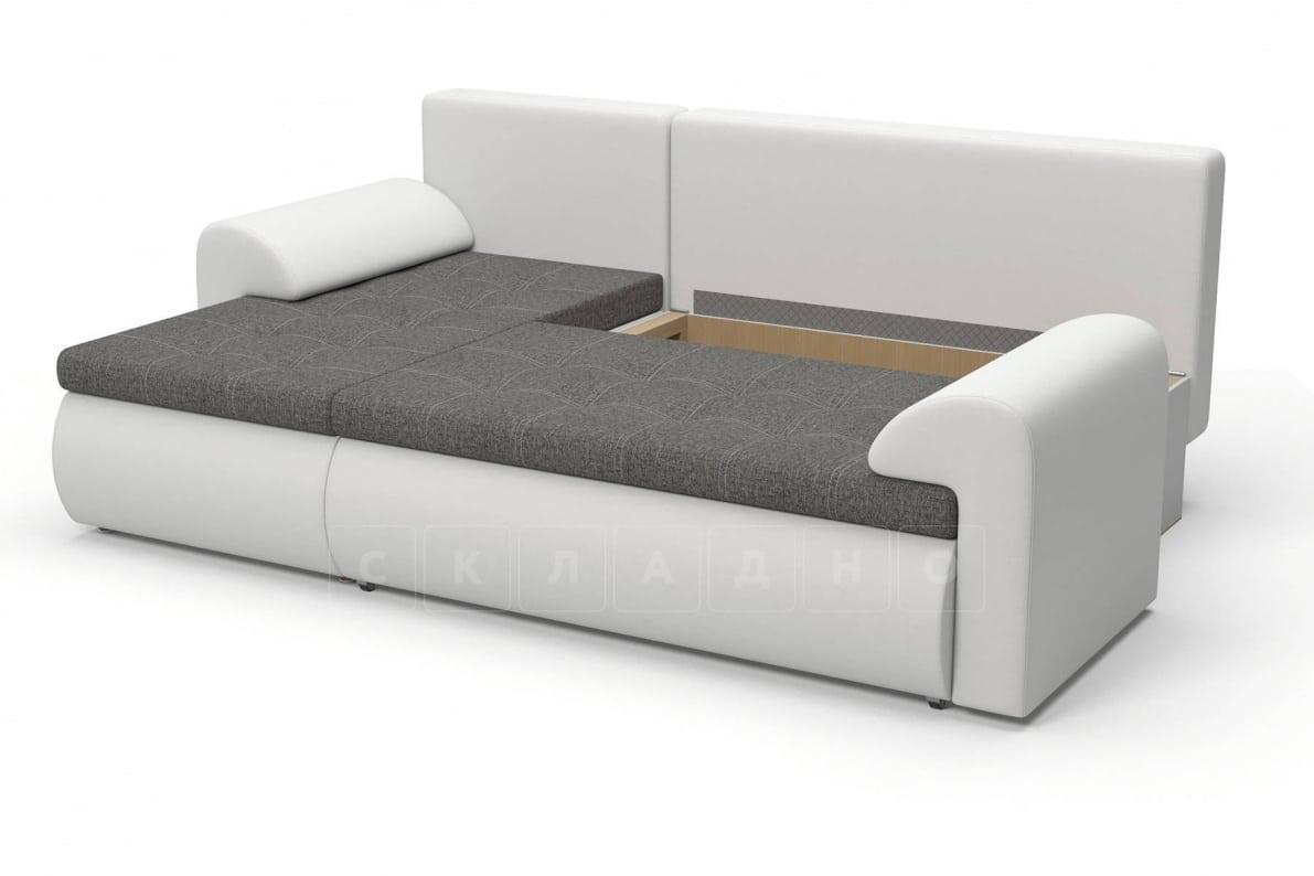 Угловой диван Цезарь белый левый фото 6   интернет-магазин Складно