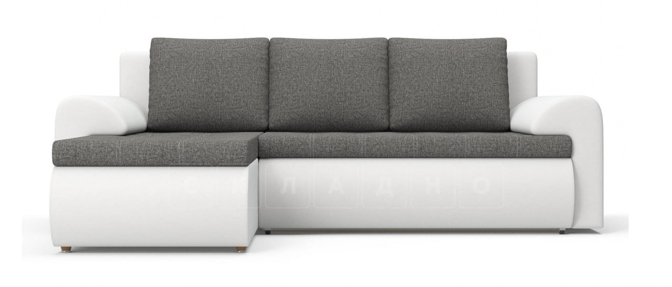 Угловой диван Цезарь белый левый фото 2   интернет-магазин Складно