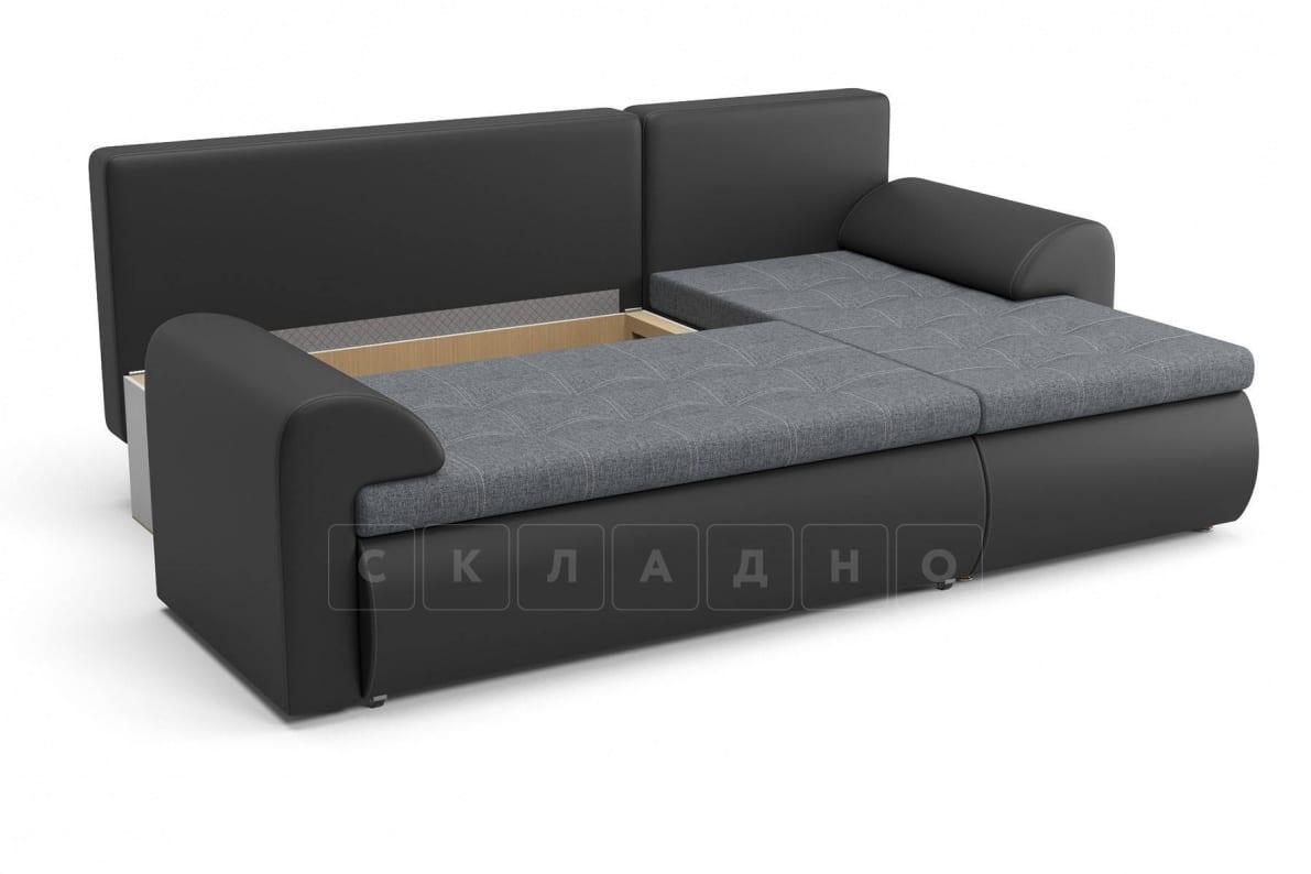 Угловой диван Цезарь темно-серый правый фото 5 | интернет-магазин Складно