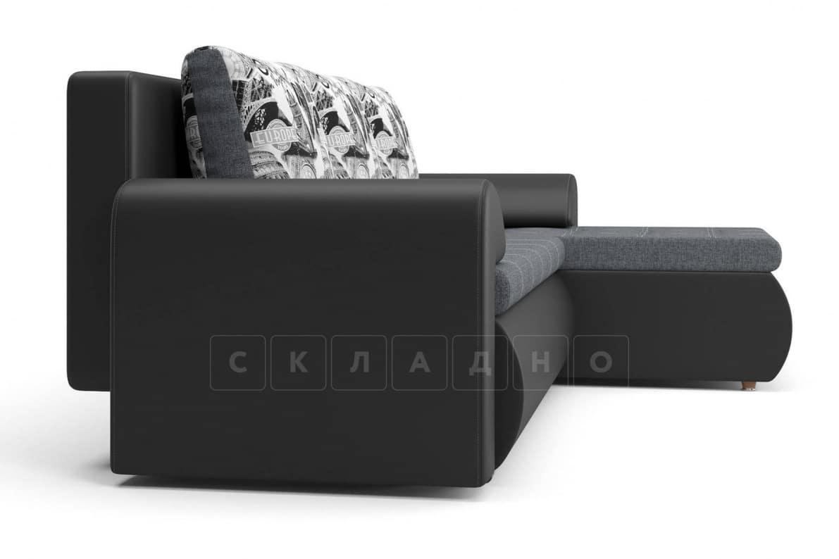 Угловой диван Цезарь темно-серый правый фото 4 | интернет-магазин Складно