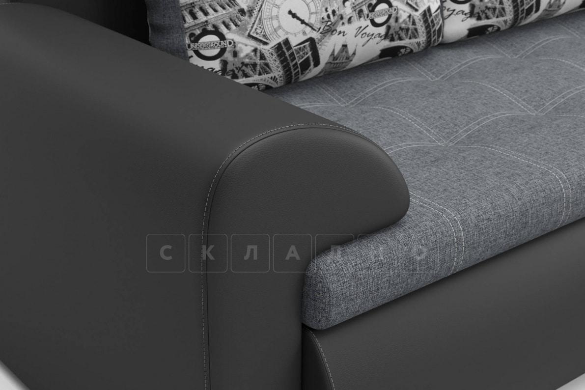 Угловой диван Цезарь темно-серый правый фото 3 | интернет-магазин Складно
