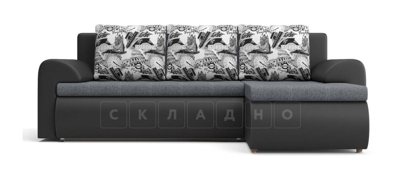 Угловой диван Цезарь темно-серый правый фото 2 | интернет-магазин Складно