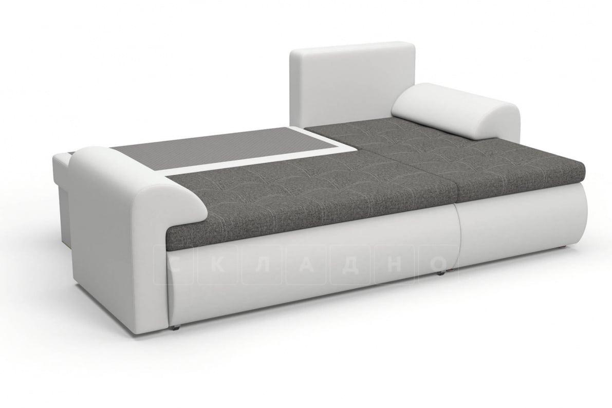 Угловой диван Цезарь белый правый фото 5 | интернет-магазин Складно