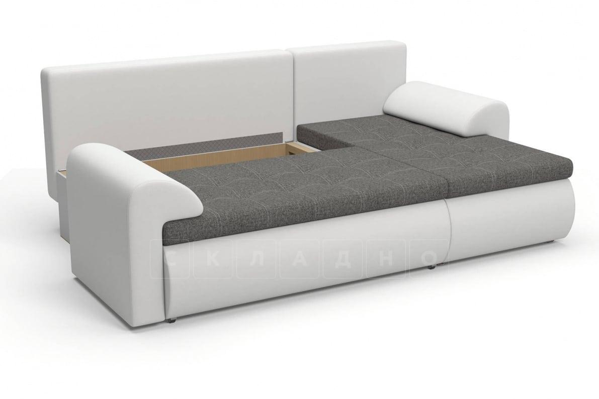 Угловой диван Цезарь белый правый фото 6 | интернет-магазин Складно