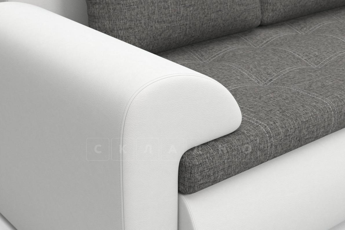 Угловой диван Цезарь белый правый фото 3 | интернет-магазин Складно