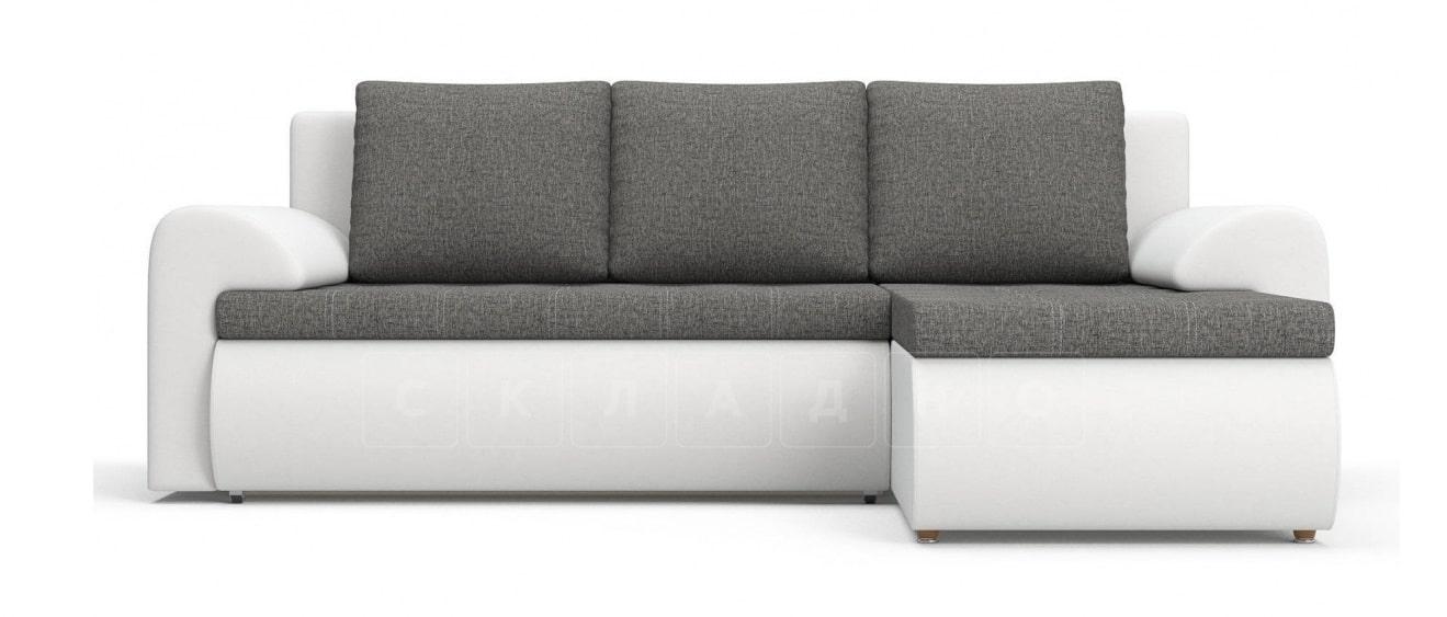 Угловой диван Цезарь белый правый фото 2 | интернет-магазин Складно