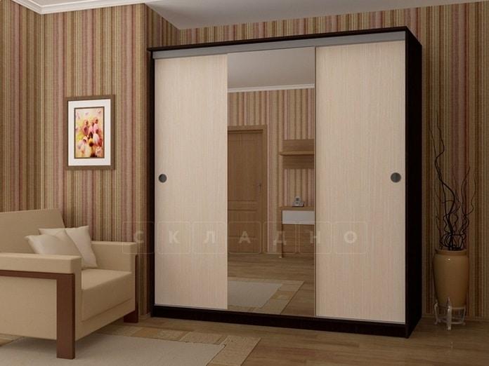 Шкаф-купе Альянс 2,0 м с одним зеркалом фото 1 | интернет-магазин Складно