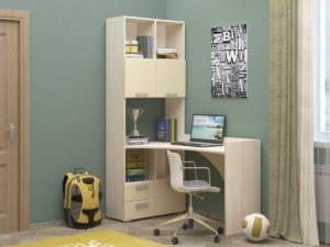 Шкаф со столом Бемби-4 фото | интернет-магазин Складно