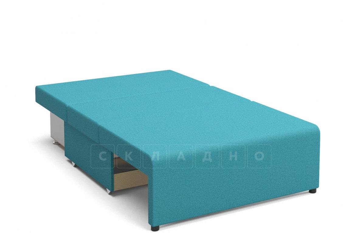 Детский диван Умка велюр голубой фото 2 | интернет-магазин Складно