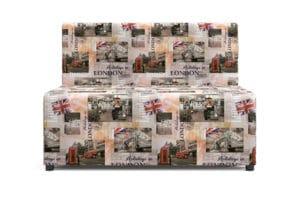 Детский диван Умка микровелюр Лондон 10990 рублей, фото 3 | интернет-магазин Складно