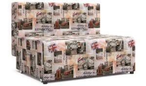 Детский диван Умка микровелюр Лондон 10990 рублей, фото 1 | интернет-магазин Складно