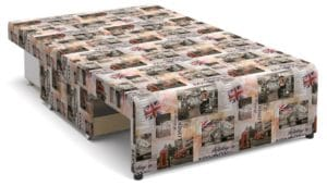 Детский диван Умка микровелюр Лондон фото 2 | интернет-магазин Складно