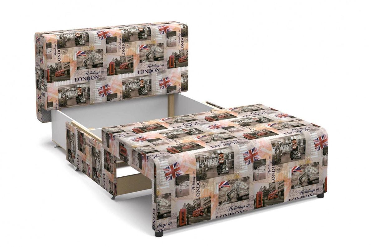 Детский диван Умка микровелюр Лондон фото 4 | интернет-магазин Складно