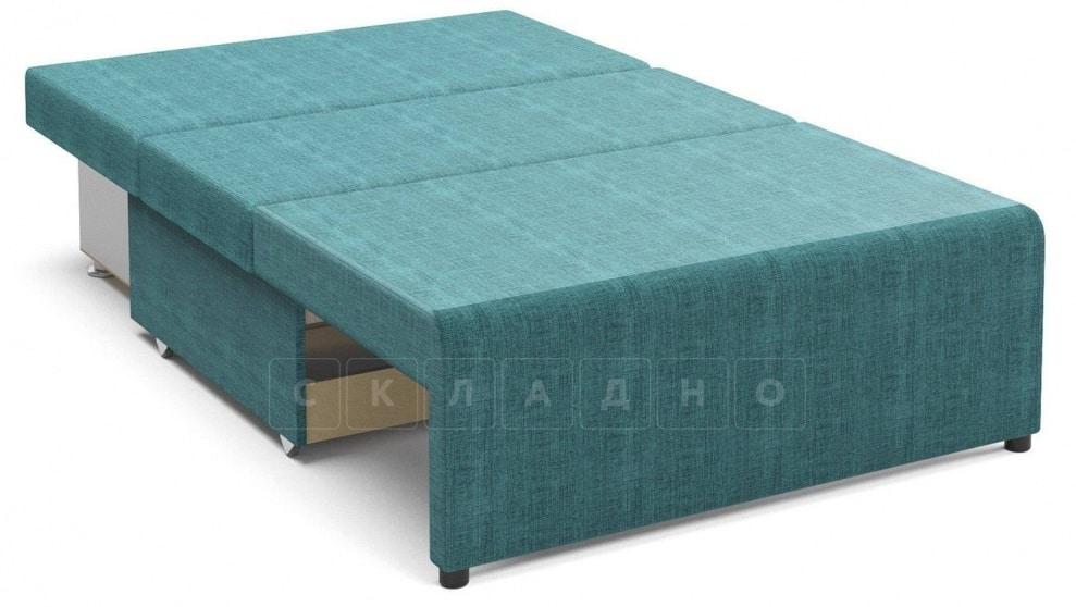 Детский диван Умка велюр бирюзовый фото 2 | интернет-магазин Складно