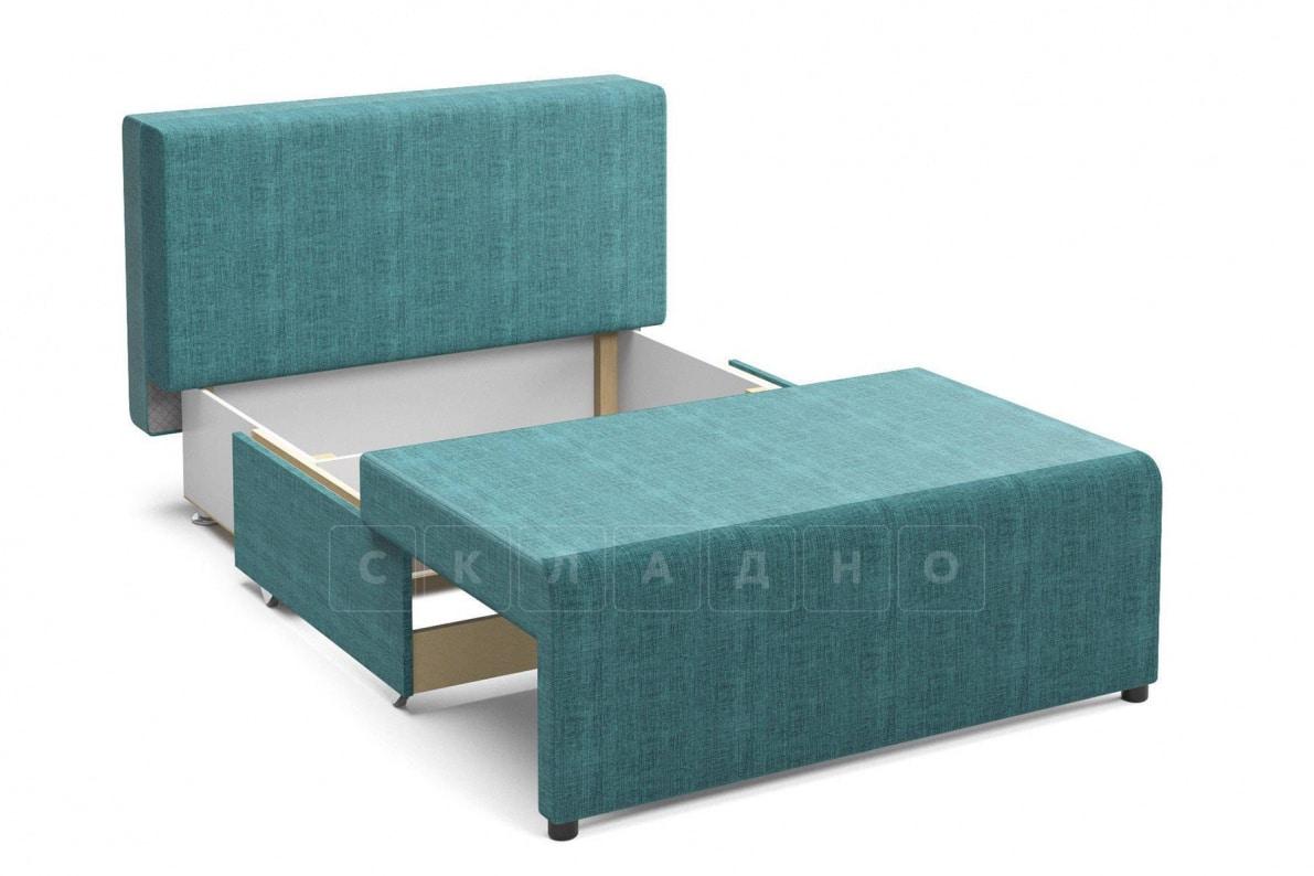 Детский диван Умка велюр бирюзовый фото 3 | интернет-магазин Складно