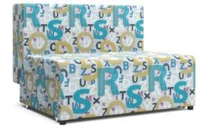 Детский диван Умка велюр голубой фото | интернет-магазин Складно