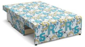Детский диван Умка велюр голубой 10990 рублей, фото 2 | интернет-магазин Складно