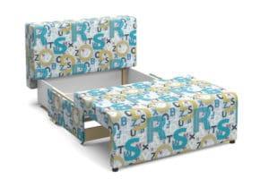 Детский диван Умка велюр голубой 10990 рублей, фото 3 | интернет-магазин Складно