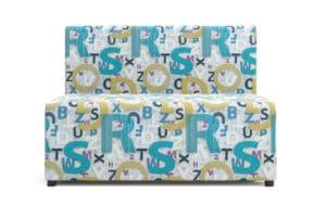 Детский диван Умка велюр голубой 10990 рублей, фото 5 | интернет-магазин Складно