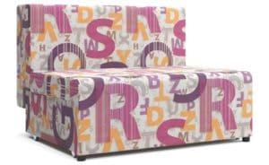 Детский диван Умка микровелюр розовый фото | интернет-магазин Складно