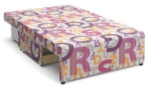 Детский диван Умка микровелюр розовый 12120 рублей, фото 2 | интернет-магазин Складно