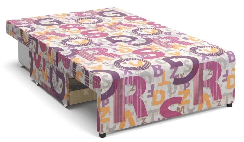 Детский диван Умка микровелюр розовый фото 2 | интернет-магазин Складно