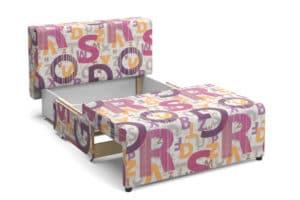 Детский диван Умка микровелюр розовый 12120 рублей, фото 3 | интернет-магазин Складно
