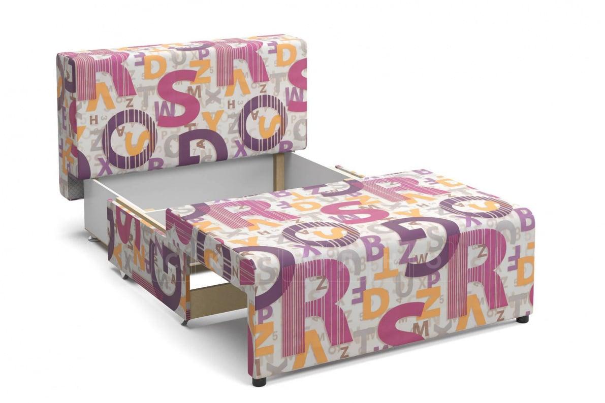 Детский диван Умка микровелюр розовый фото 3 | интернет-магазин Складно