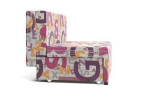 Детский диван Умка микровелюр розовый 12120 рублей, фото 4 | интернет-магазин Складно