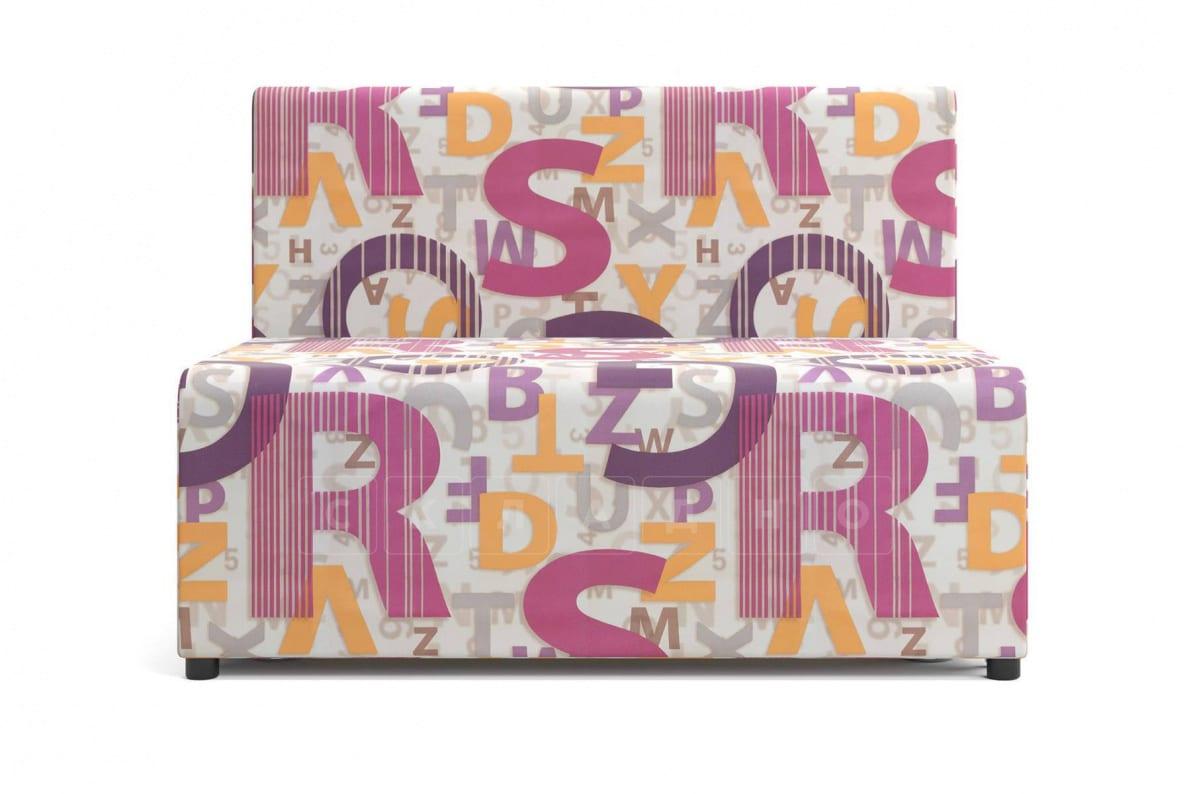 Детский диван Умка микровелюр розовый фото 5 | интернет-магазин Складно