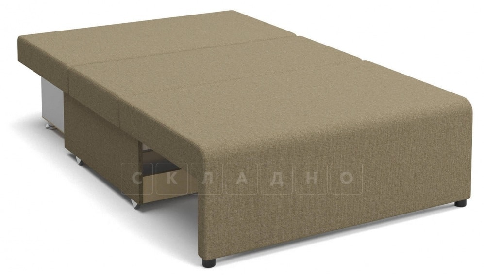 Детский диван Умка рогожка темно-бежевый фото 2 | интернет-магазин Складно