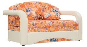 Детский диван Эдем пони оранжевый фото | интернет-магазин Складно